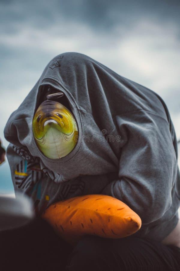 Förbittrad fisk royaltyfri fotografi
