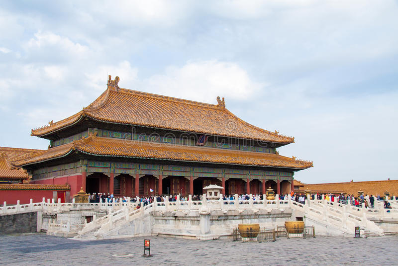 förbjuden beijing porslinstad royaltyfria foton