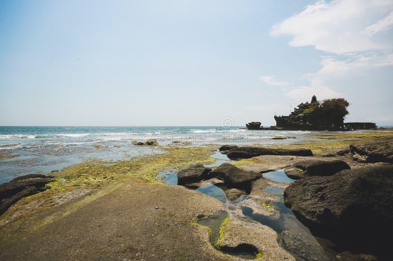 Förbluffa 'för ¾ Ñ för sikt Ð den tempelTanah lotten Bali royaltyfri foto