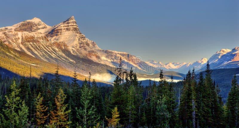 Förbluffa Alberta Landscape arkivfoto