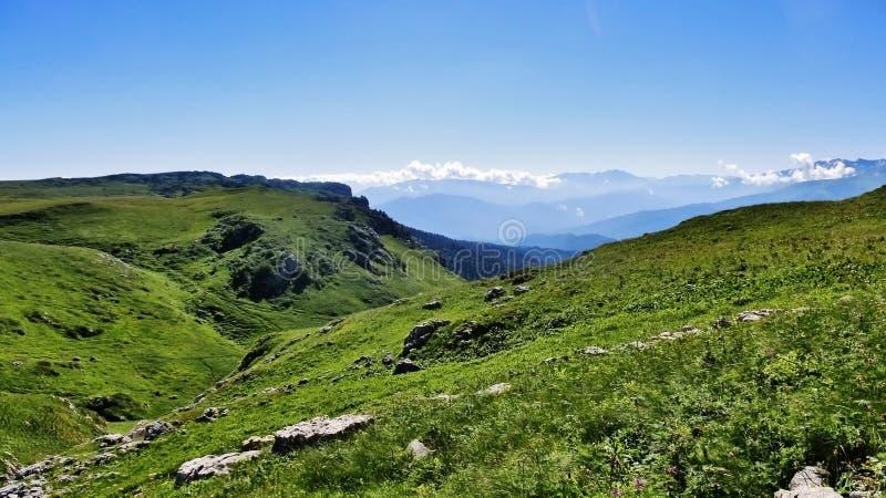 Förbluffa Kaukasus royaltyfri foto