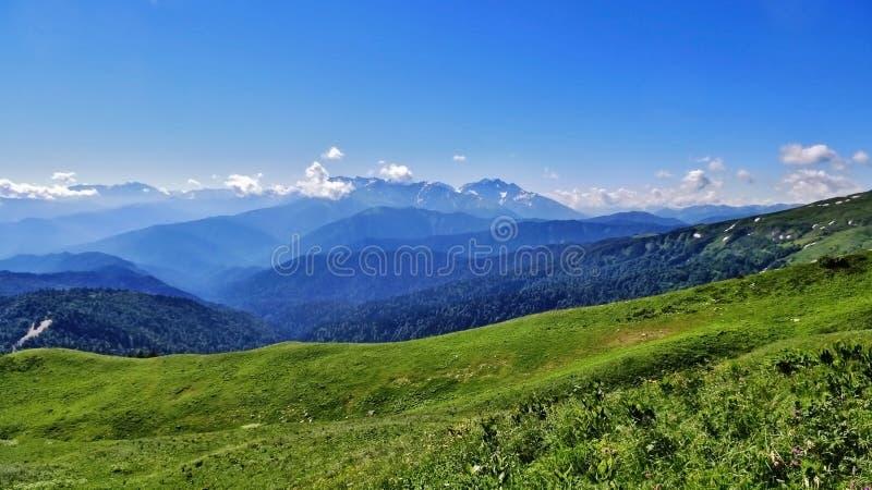 Förbluffa Kaukasus royaltyfri fotografi
