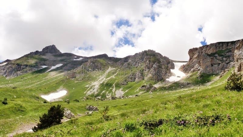 Förbluffa Kaukasus arkivbild