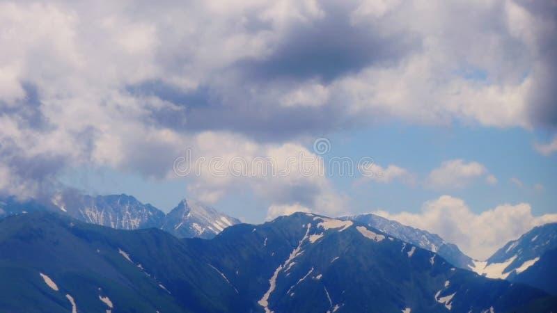 Förbluffa Kaukasus arkivfoto