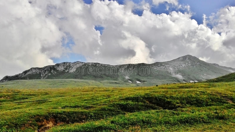 Förbluffa Kaukasus royaltyfri bild