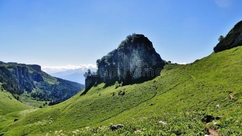 Förbluffa Kaukasus arkivbilder