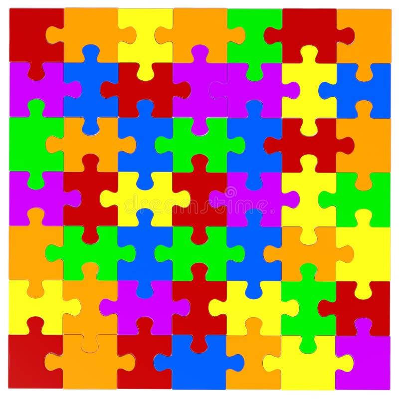förbryllar lätta stycken eps8 för ändringsfärger resizing av vektorn stock illustrationer