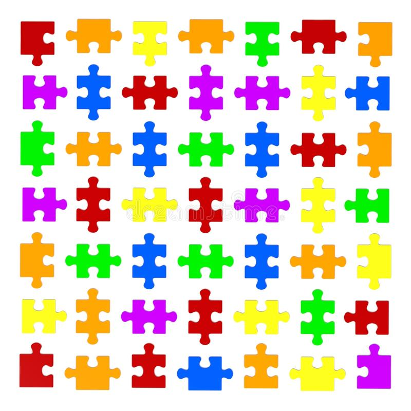 förbryllar lätta stycken eps8 för ändringsfärger resizing av vektorn vektor illustrationer