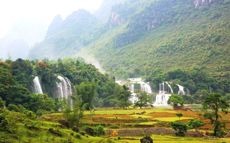förbudgiocvattenfall arkivbilder