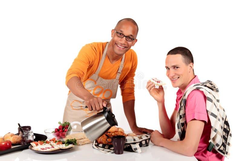 förbunden blandat glatt kök för etnicitet arkivbilder