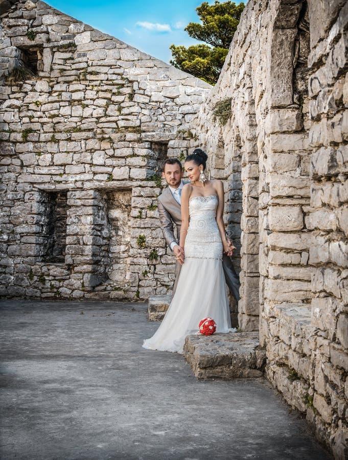 förbunden bröllopbarn royaltyfri bild
