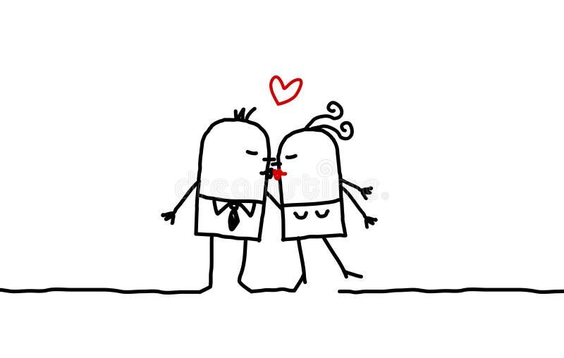 förbunden kyssen
