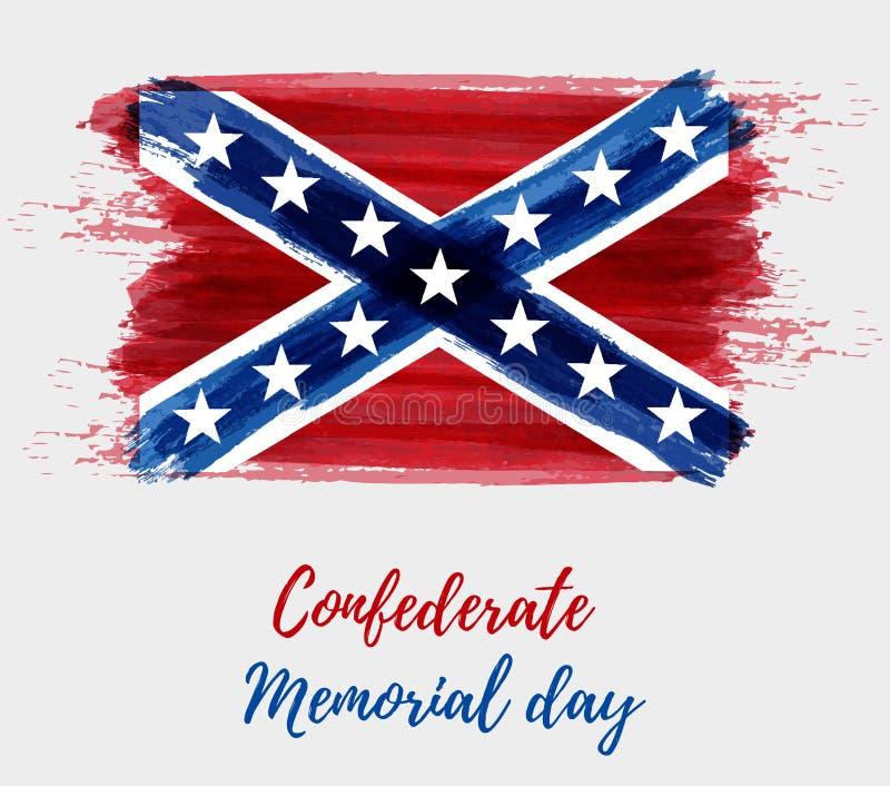 Förbundsmedlem Memorial Day royaltyfri illustrationer