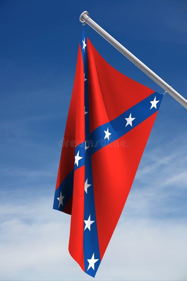 förbundsmedlemflagga royaltyfri illustrationer