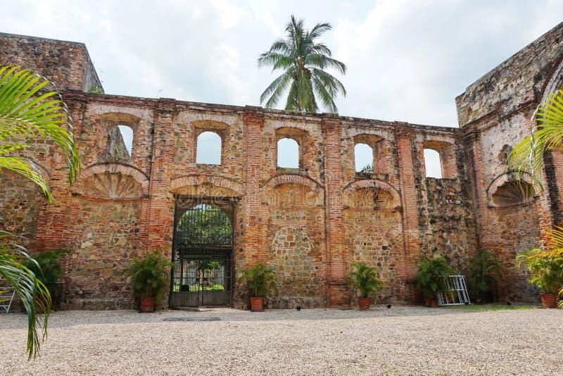 Fördärva av kyrkan av samhället av Jesus Panama City royaltyfri bild
