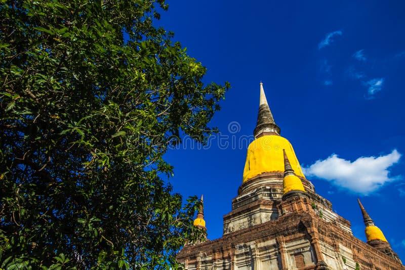 Fördärva av pagod royaltyfri foto