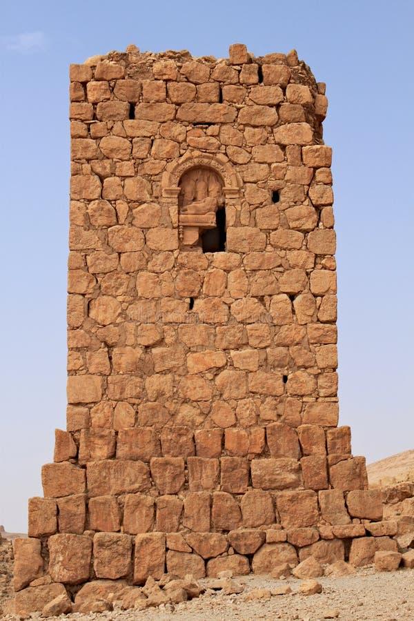 Fördärvar av den forntida gravvalvet i Palmyra kort förr kriget, 2011 arkivfoto