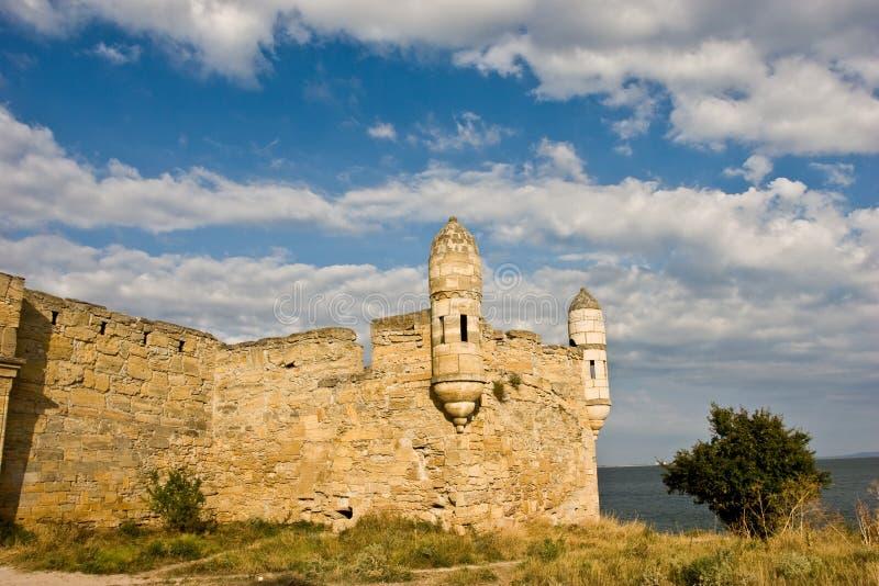 Fördärvar av fästning arkivbild