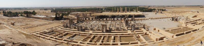 Fördärvar av forntida Persepolis, Iran royaltyfria bilder