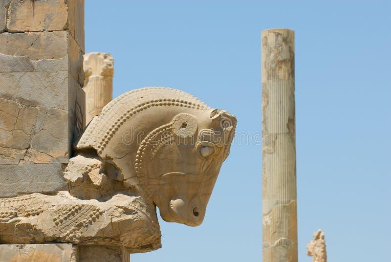 Fördärvar av Persepolis royaltyfria foton