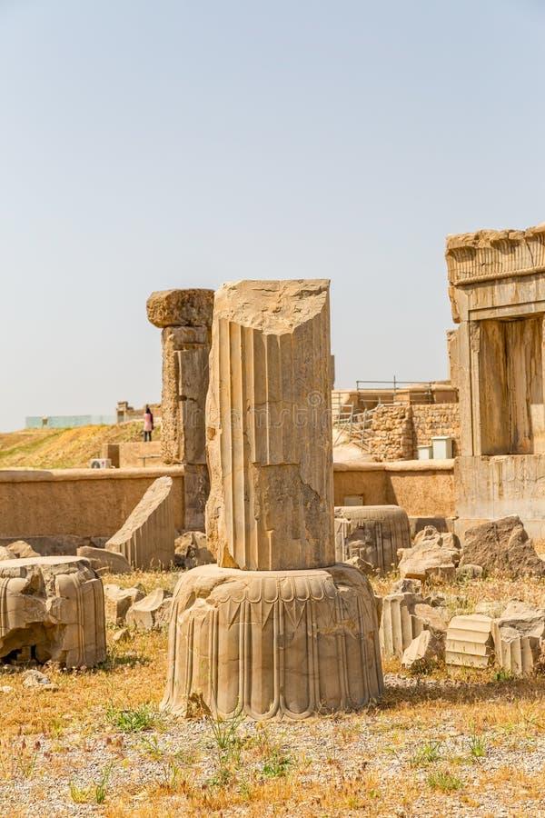 Fördärvar av Persepolis royaltyfri foto