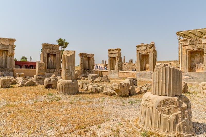 Fördärvar av Persepolis royaltyfria bilder