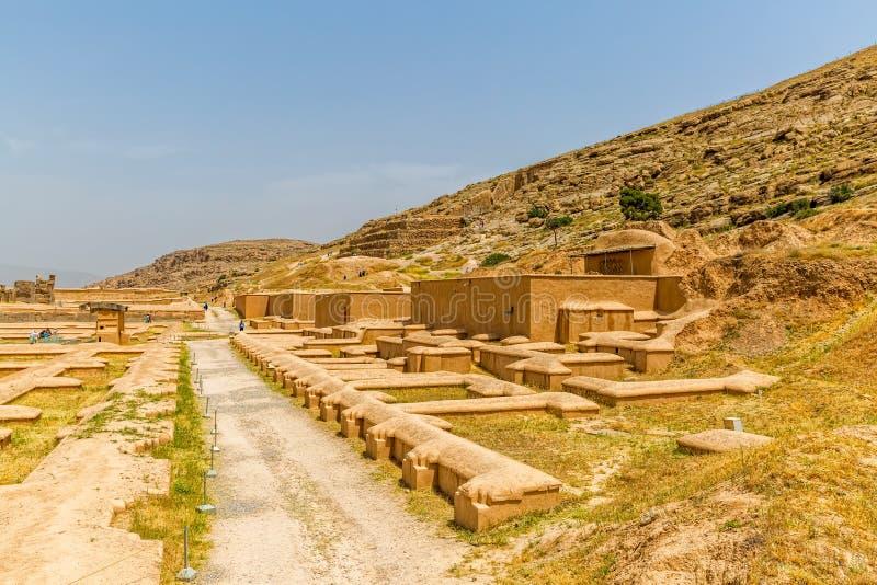 Fördärvar av Persepolis arkivfoto