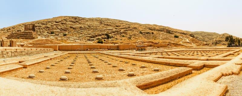 Fördärvar av Persepolis arkivfoton