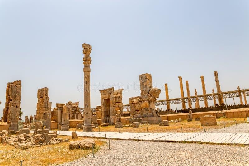 Fördärvar av Persepolis royaltyfri bild