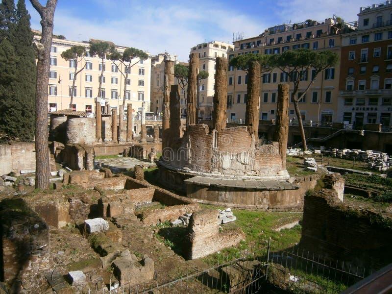 Fördärvar av Rome arkivfoto