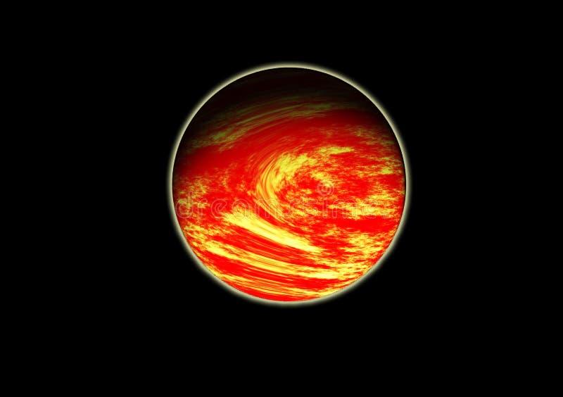 Fördärvar det röda planet fotografering för bildbyråer
