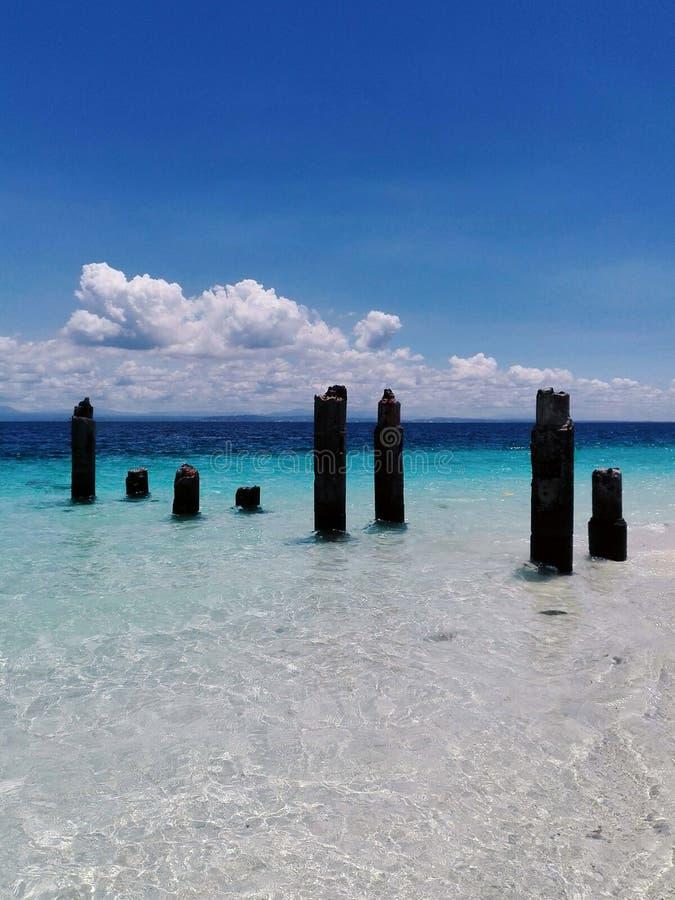 fördärvar havet royaltyfri foto