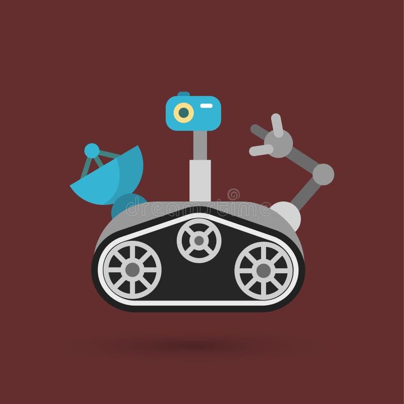 Fördärvar Rover stock illustrationer
