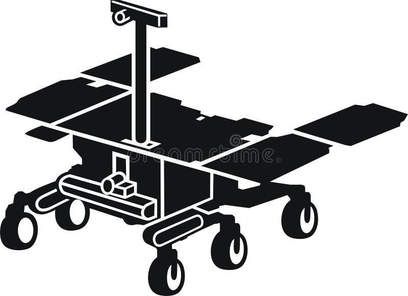 Fördärvar roveren, ExoMars stock illustrationer