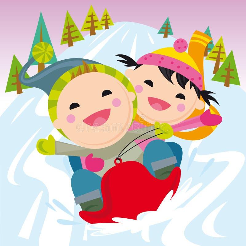 förd snow stock illustrationer