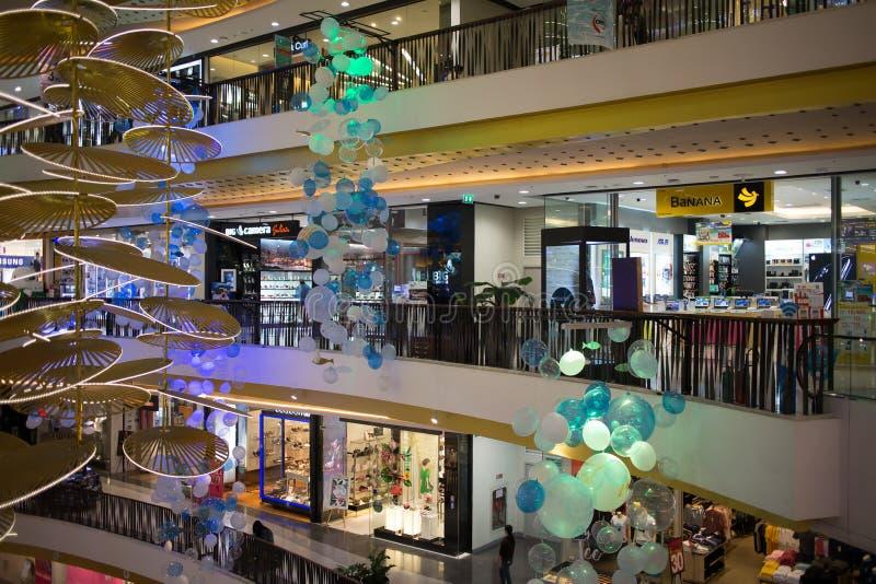 Förderungs-Verkaufs-Zone im zentralen Festival Chiang Mai lizenzfreies stockfoto