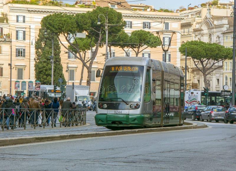 Förderwagen in Rom stockbild