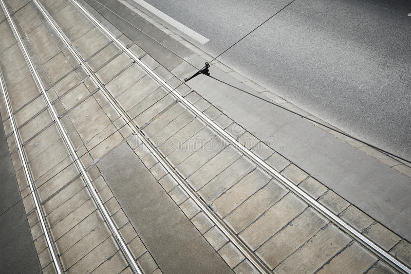 Förderwagenspur lizenzfreies stockfoto
