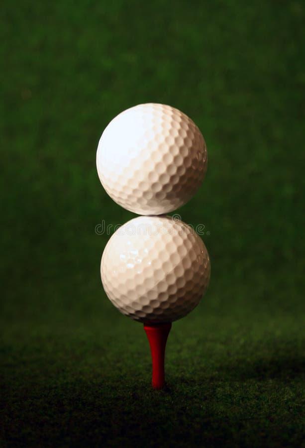 fördubbla golf royaltyfri foto