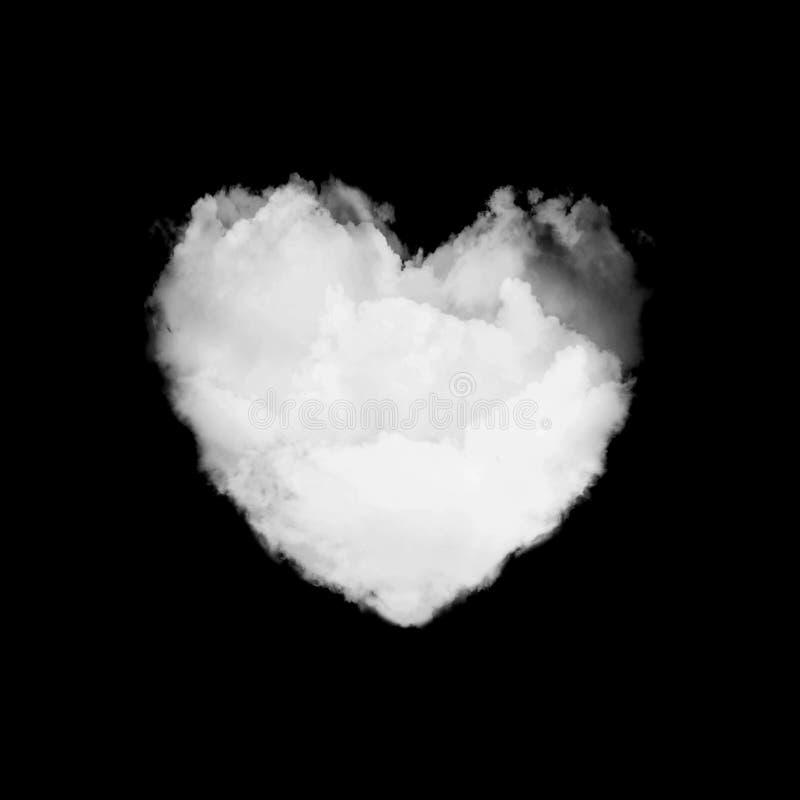 Fördunkla formhjärta som isoleras på den inklusive snabba banan för svart bakgrund royaltyfria foton