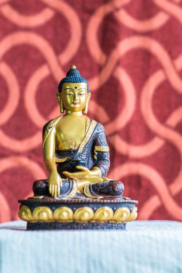 Förebild av Buddha, från Bhutan fotografering för bildbyråer