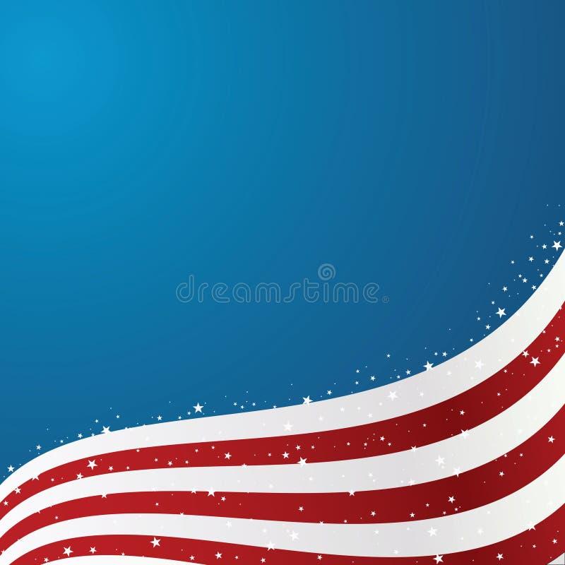 förenade bakgrundsflaggatillstånd vektor illustrationer