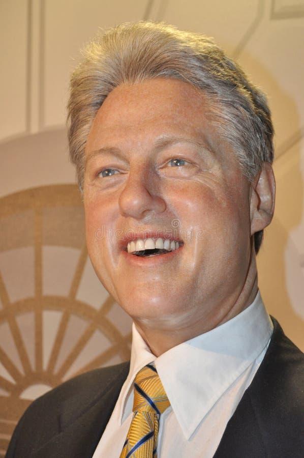 förenade Bill Clinton tidigare presidenttillstånd royaltyfria bilder