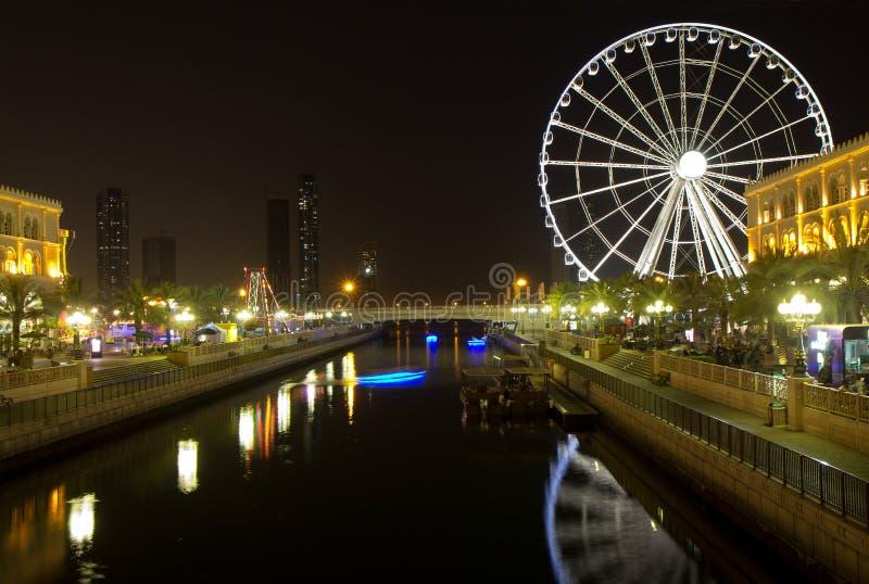Förenadeen Arabemiraten. Sharjah. royaltyfria foton