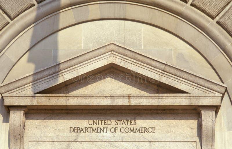 Förenta staternaavdelning av komrets, Washington, DC royaltyfri fotografi