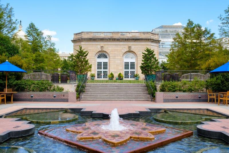 Förenta staternabotaniska trädgården i Washington D C royaltyfria bilder