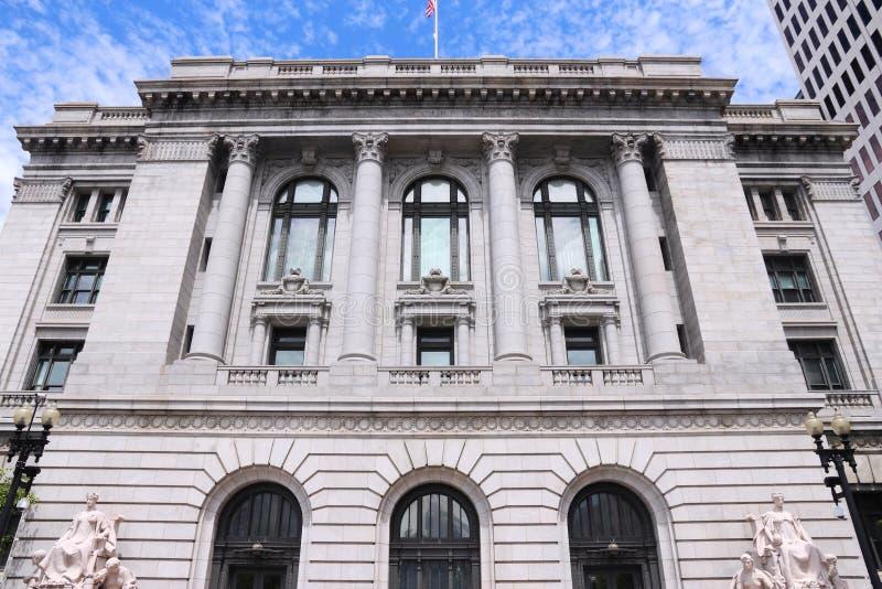 Förenta staternadomstol royaltyfria foton