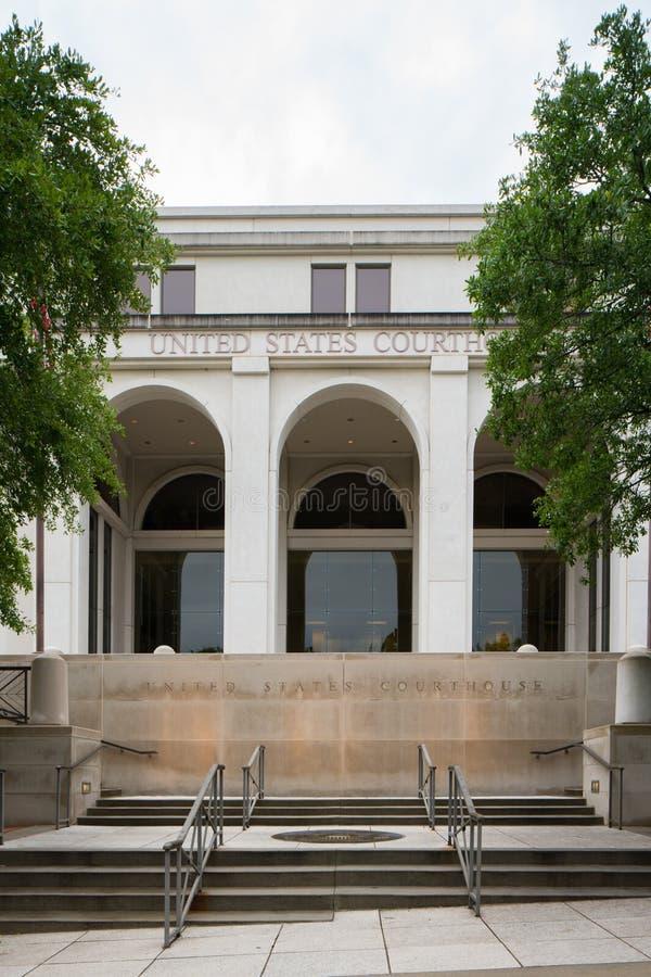 Förenta staternadomstolsbyggnad Tallahassee FL arkivbilder