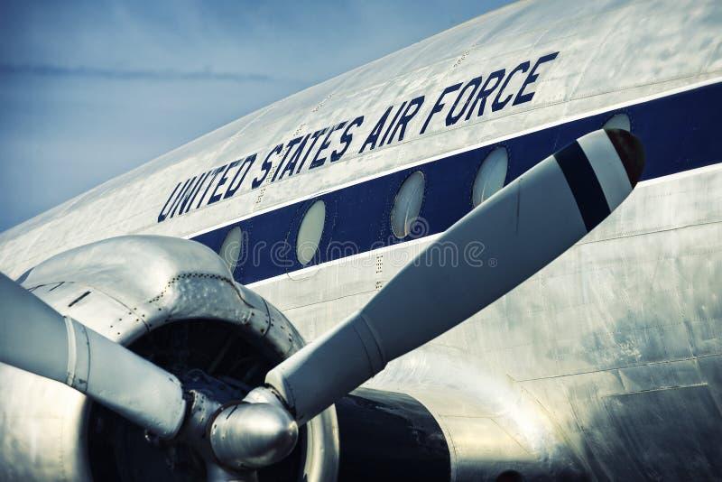 Förenta staternaflygvapen royaltyfria bilder
