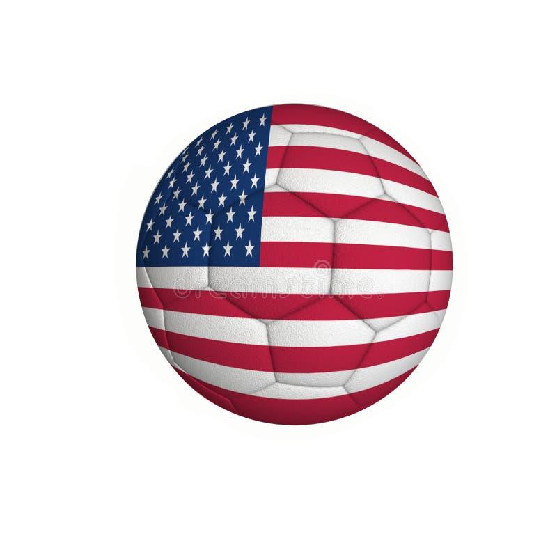 Förenta staternafotboll royaltyfria foton